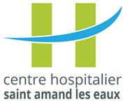 Logo centre hospitalier Saint Amand les eaux