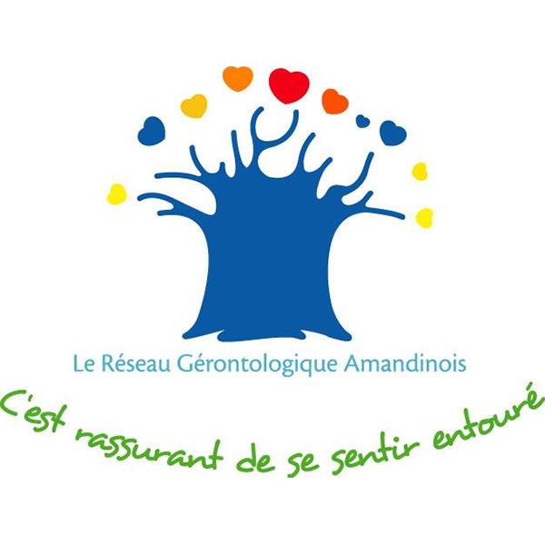 Logo Réseau Gérontologique Amandinois